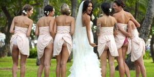 bridesmaids butts 1