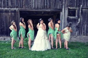 bridesmaids butts 3